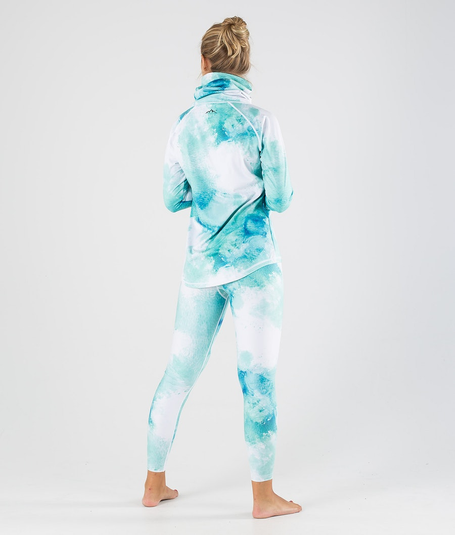 Dope Snuggle OG W Women's Base Layer Top Water White