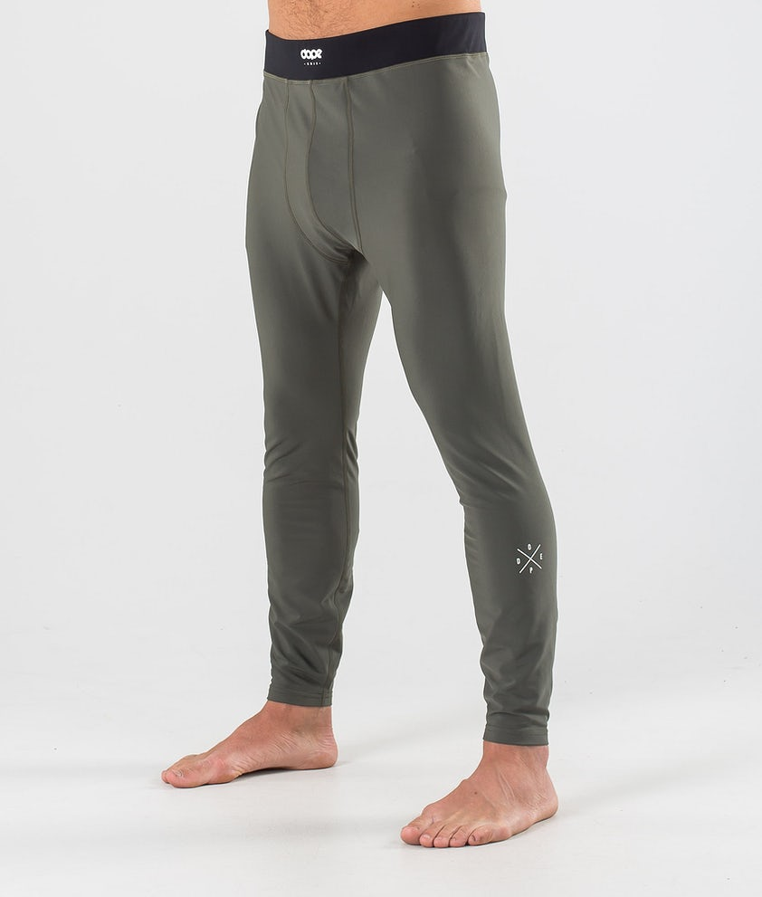 Dope Snuggle 2X-UP Pantalon thermique Olive Green