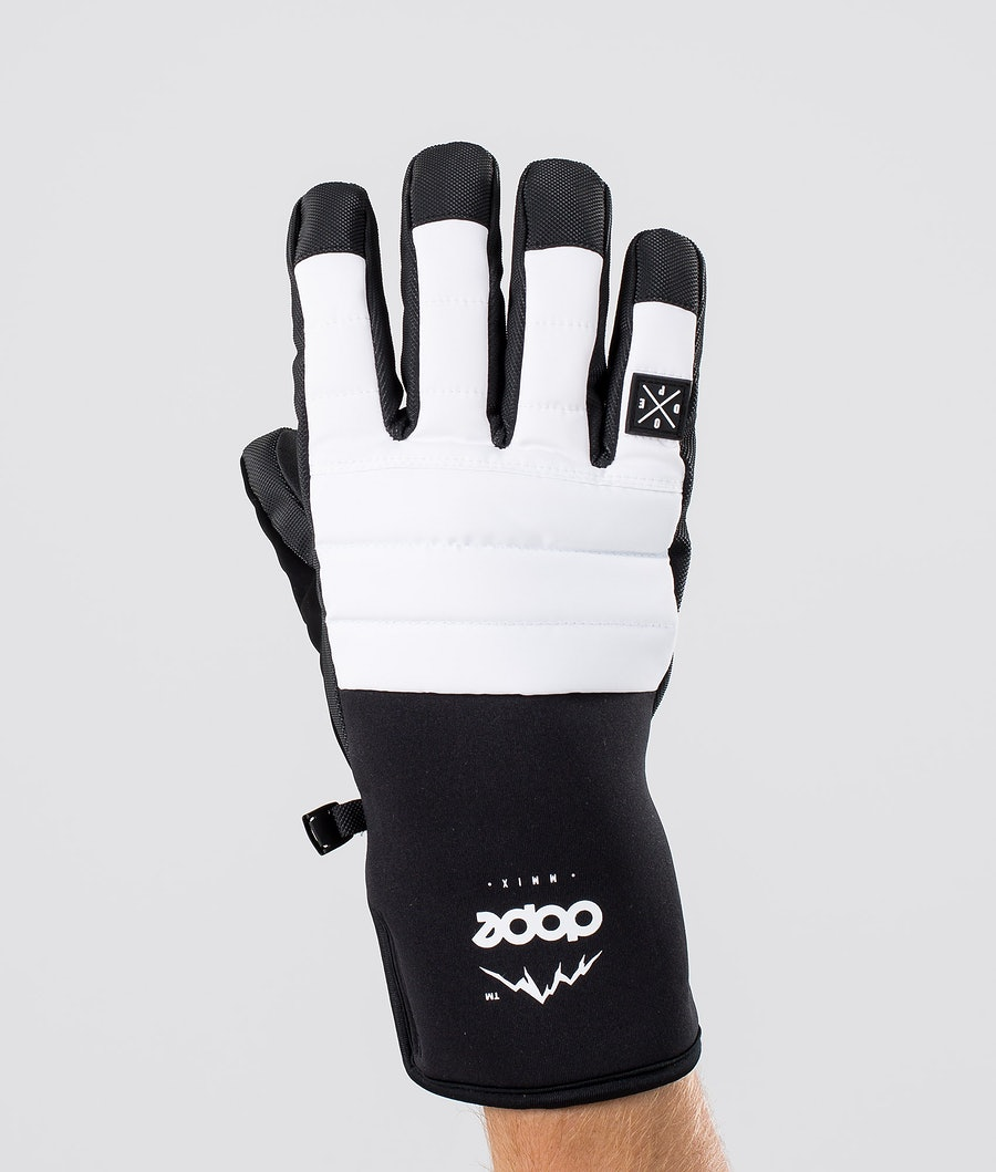 Dope Ace Glove Ski Gloves White