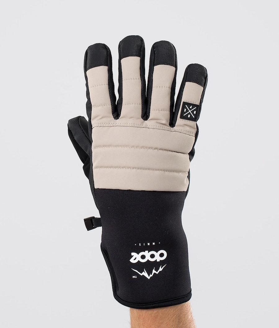 Dope Ace Glove Skihandschoenen Sand