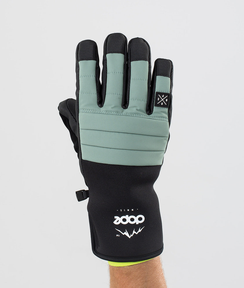 Dope Ace Glove Skihansker Faded Green