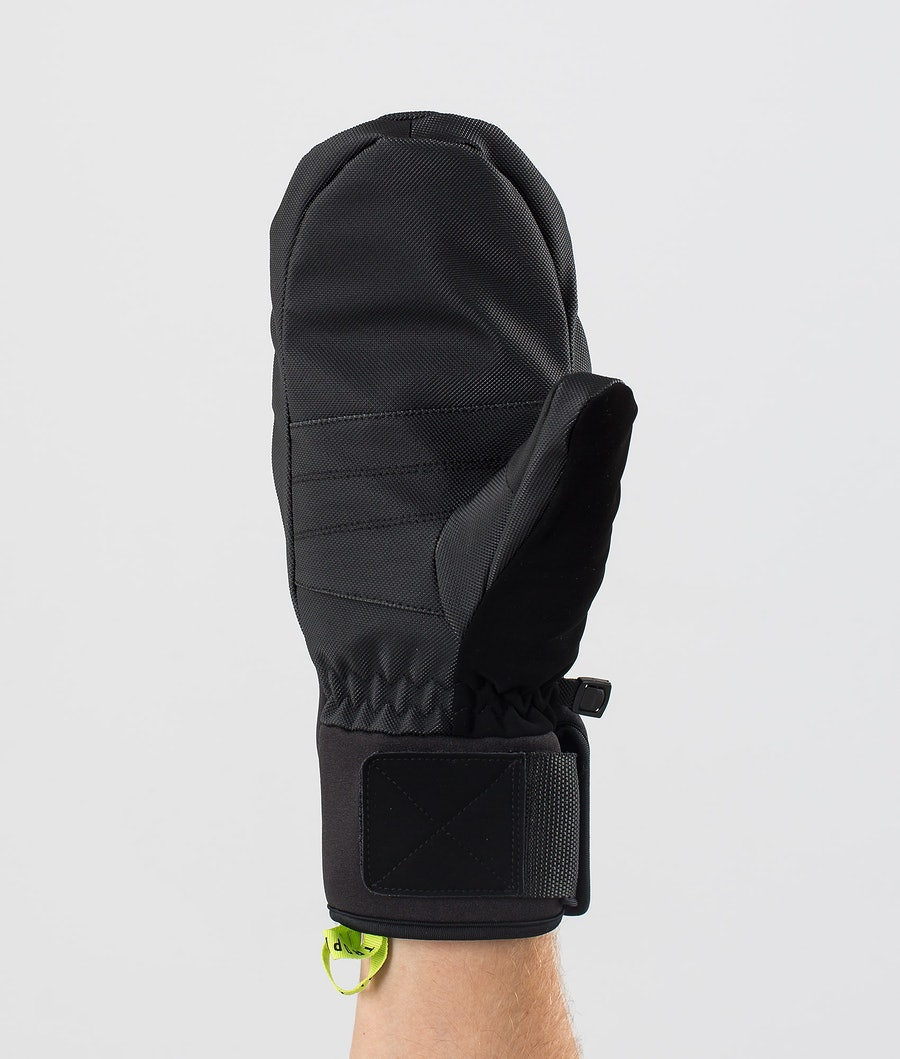 Dope Ace Mitt Snow Mittens Black