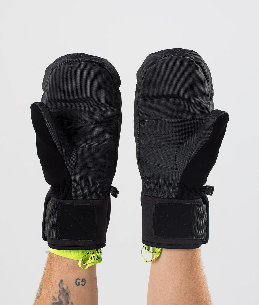Dope Ace Mitt Mittens Snow Black