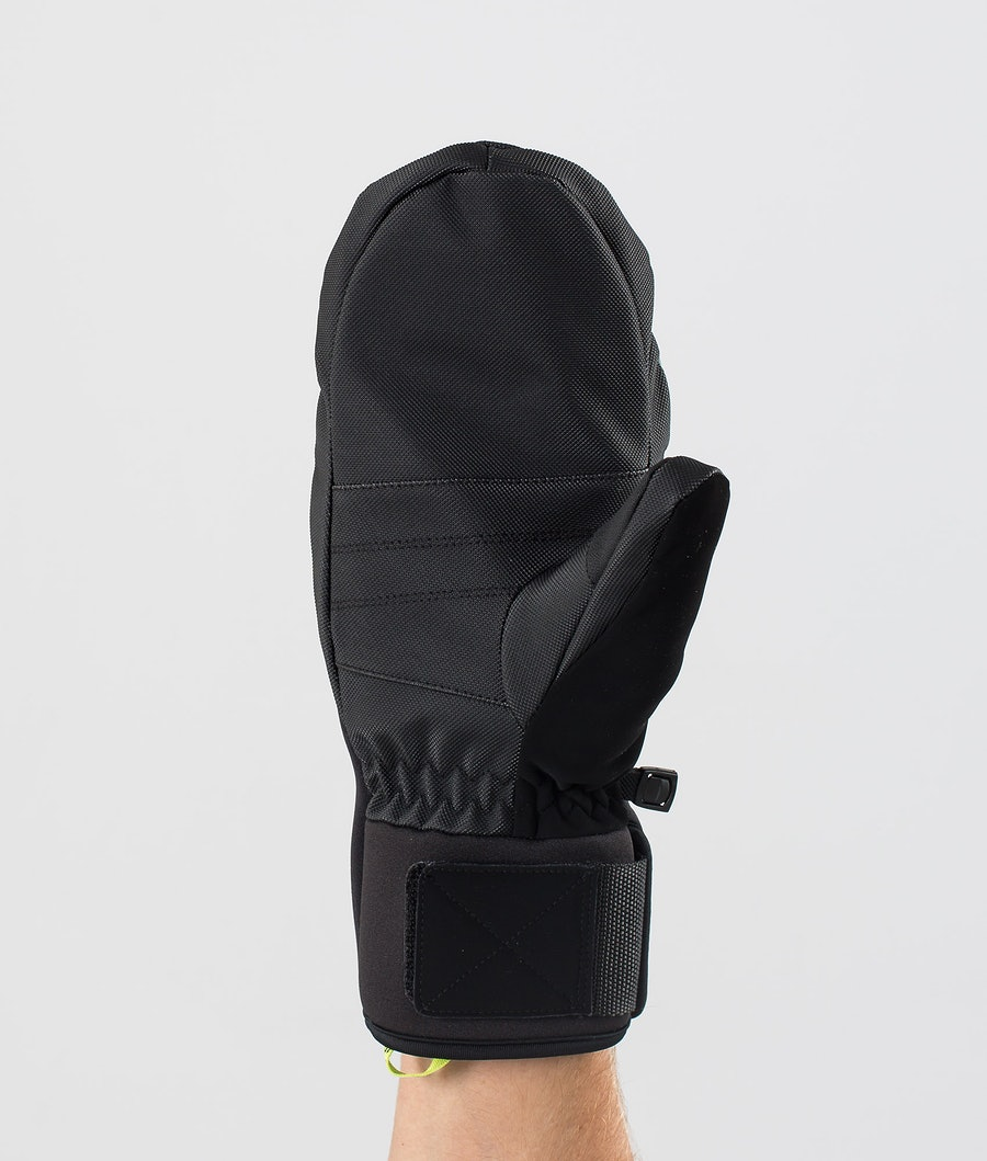 Dope Ace Mitt Mittens Snow Faded Green