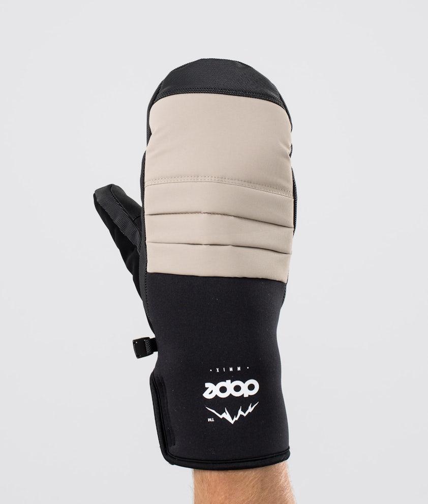 Dope Ace Mitt Ski Gloves Sand