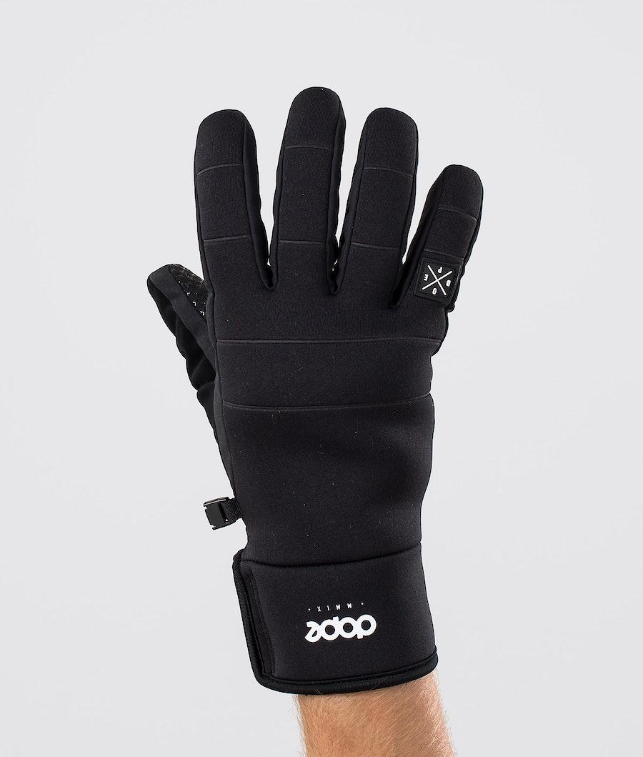 Dope Signet Glove Skihansker Black Black