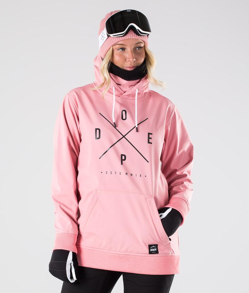 Dope Yeti W Lumilautailutakki Pink