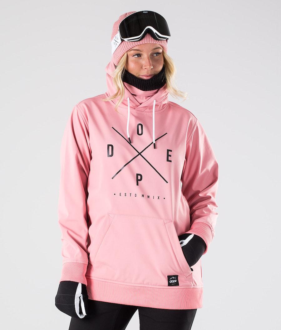 Dope Yeti W Snowboardjakke Pink