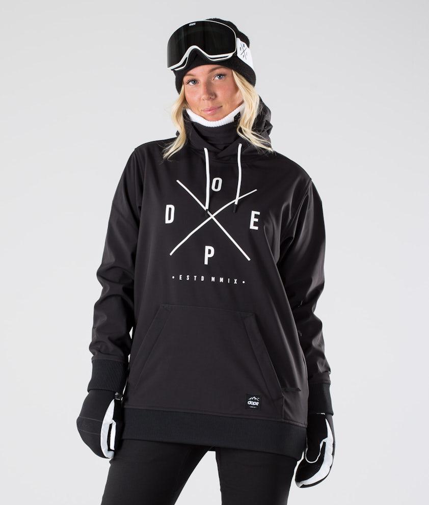 Dope Yeti W Snowboardjakke Black
