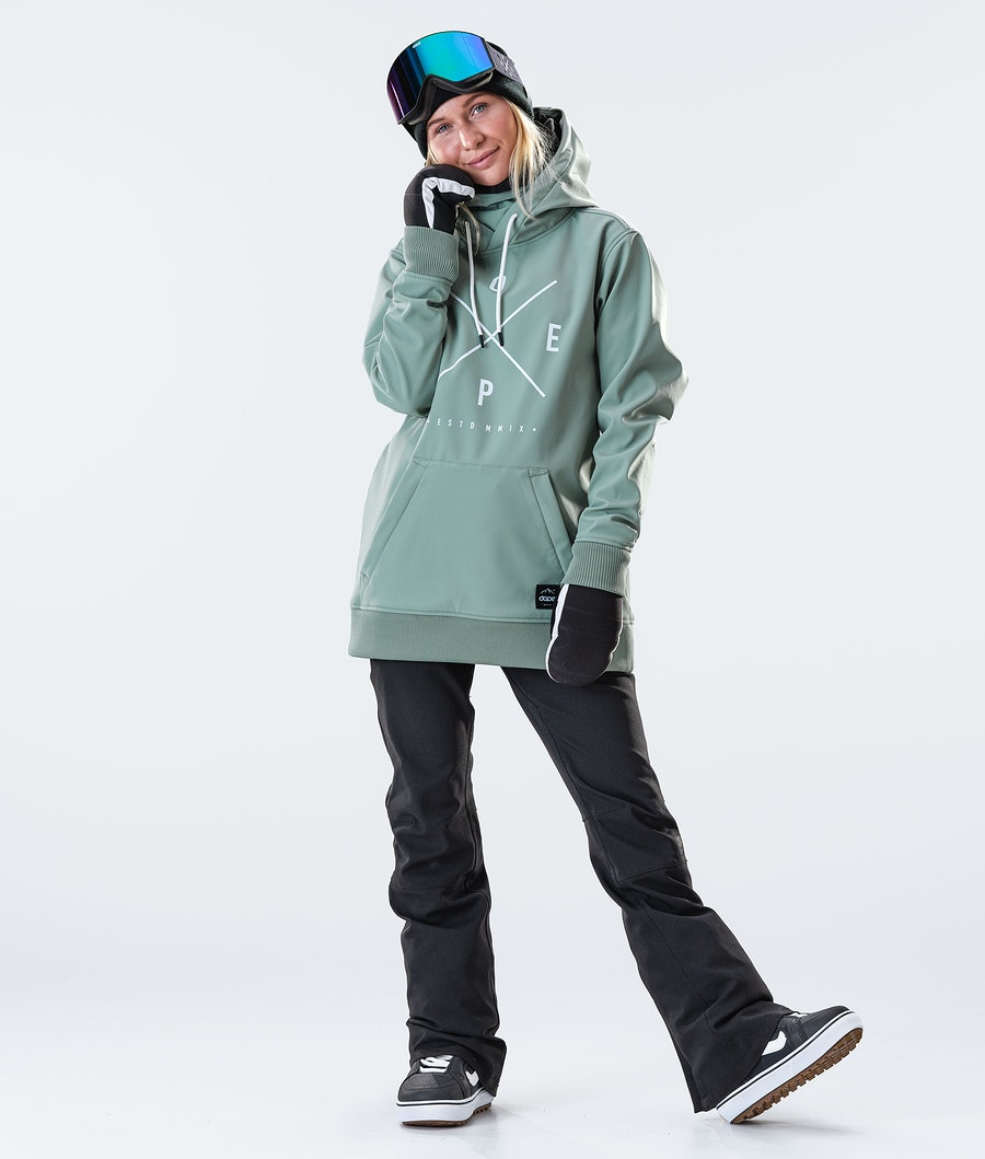 Dope Yeti W Women's Snowboard Jacket Faded Green