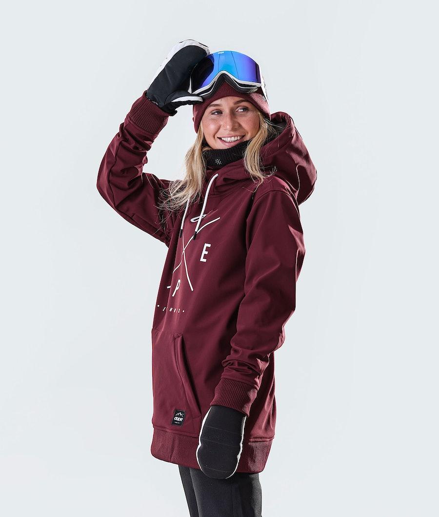 Dope Yeti W Skijacke Damen Burgundy
