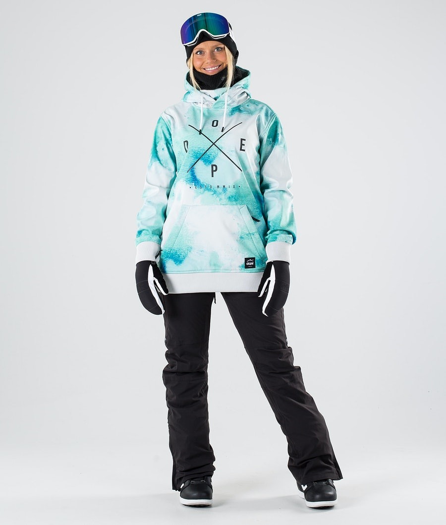Dope Yeti W Women's Snowboard Jacket Water White