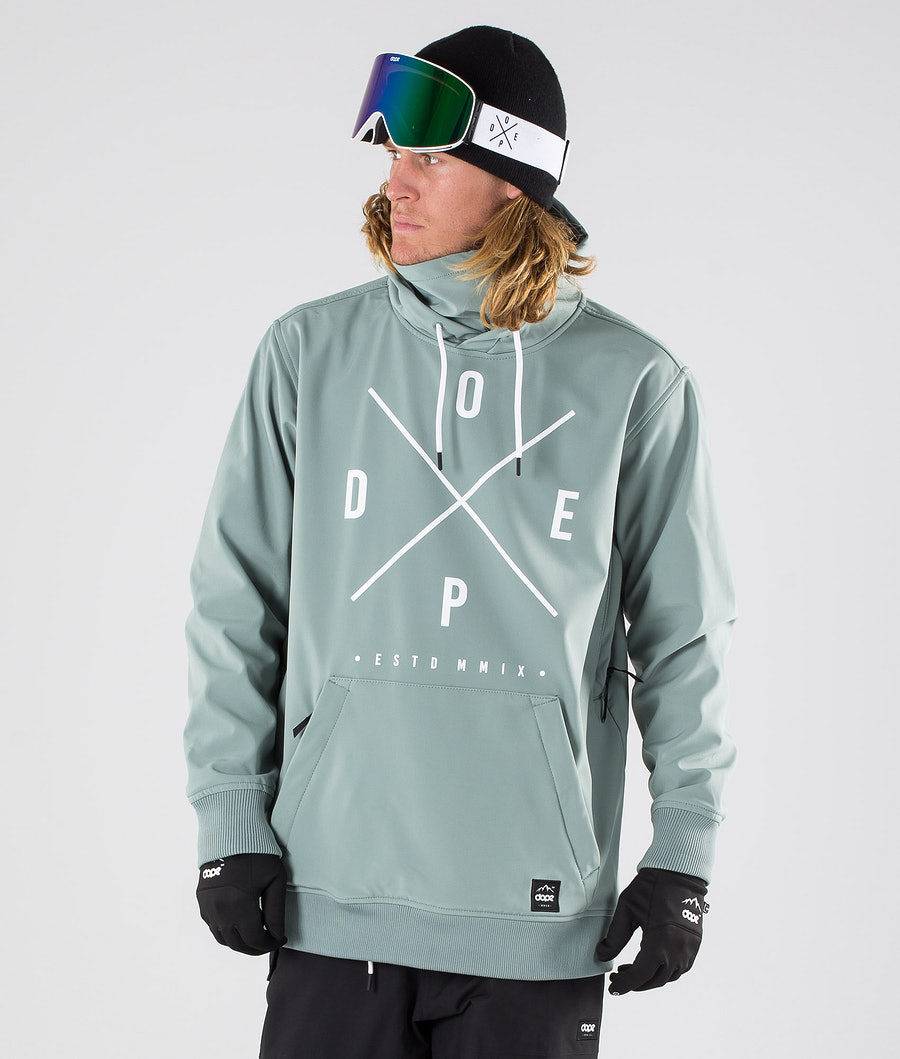Dope Yeti Snowboardjacka Faded Green
