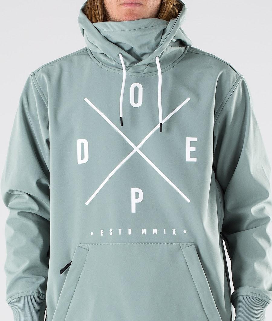 Dope Yeti Snowboard Jacket Faded Green