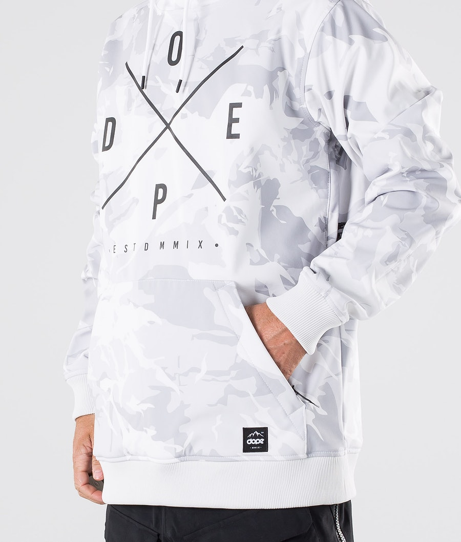 Dope Yeti Snowboard Jacket Tux Camo