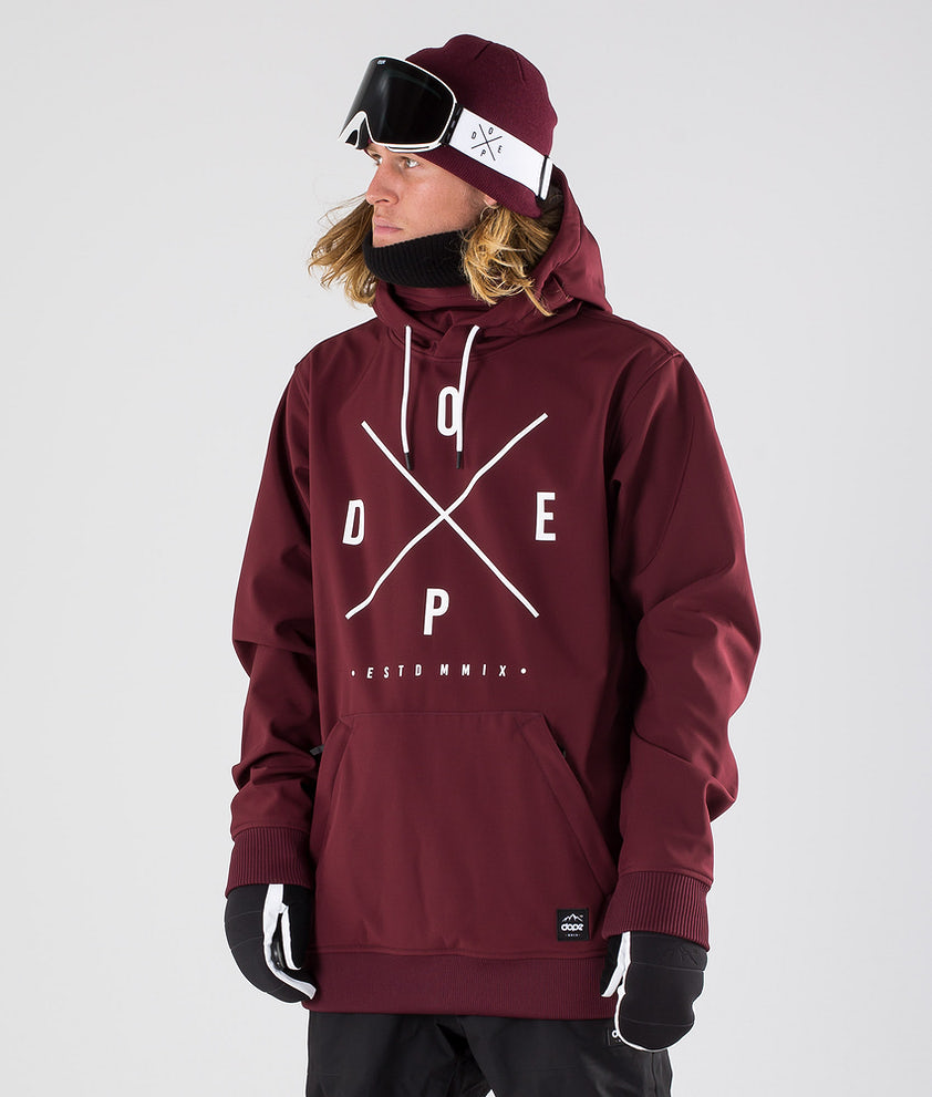 Dope Yeti Snowboardjakke Burgundy