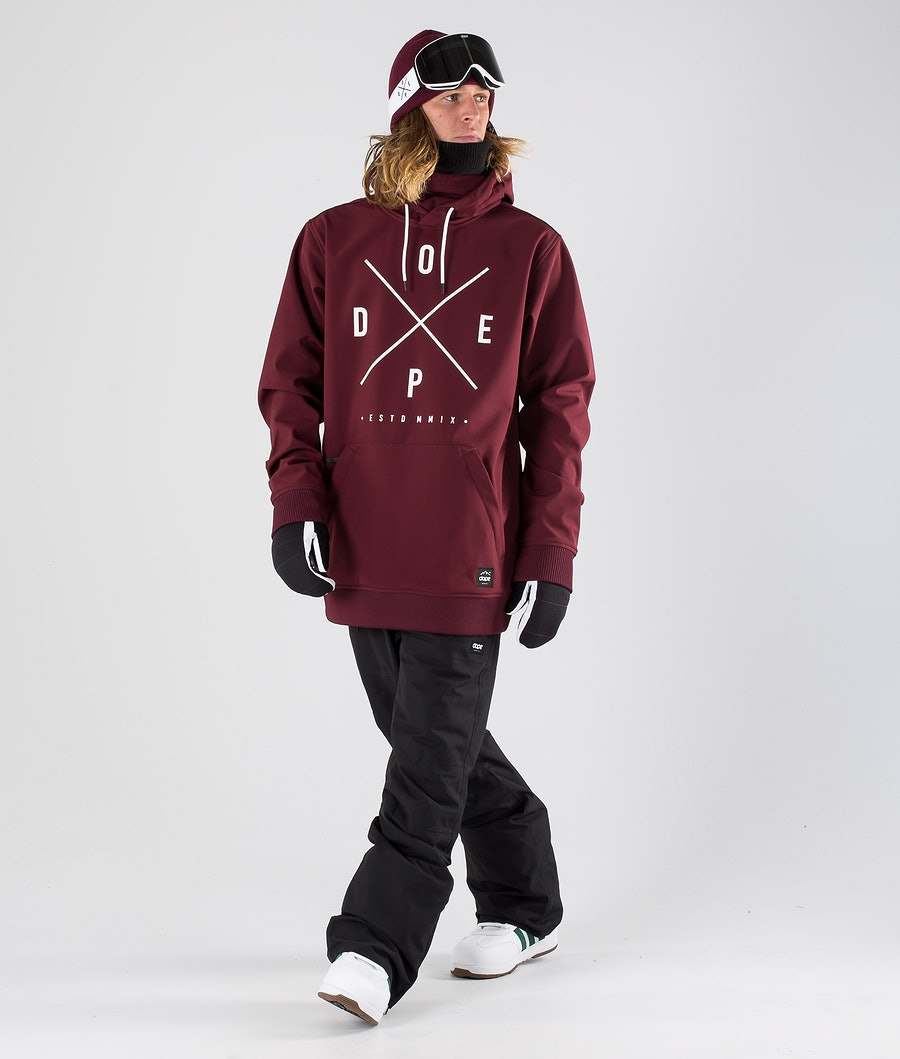 Dope Yeti Veste de Snowboard Burgundy