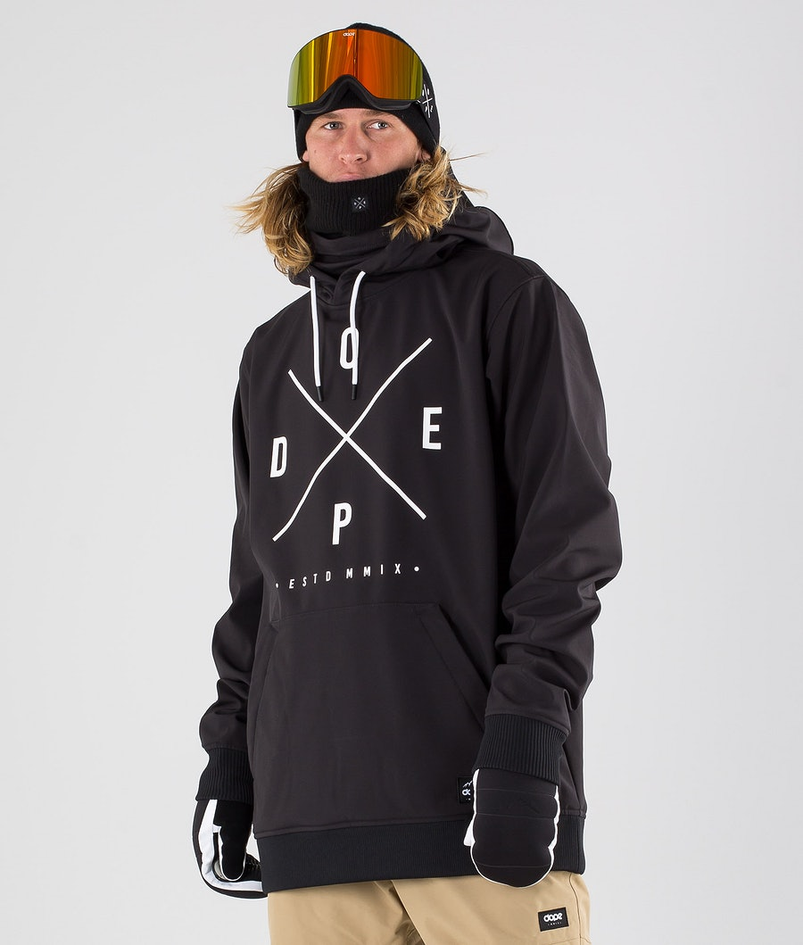 Dope Yeti Giacca da snowboard Black