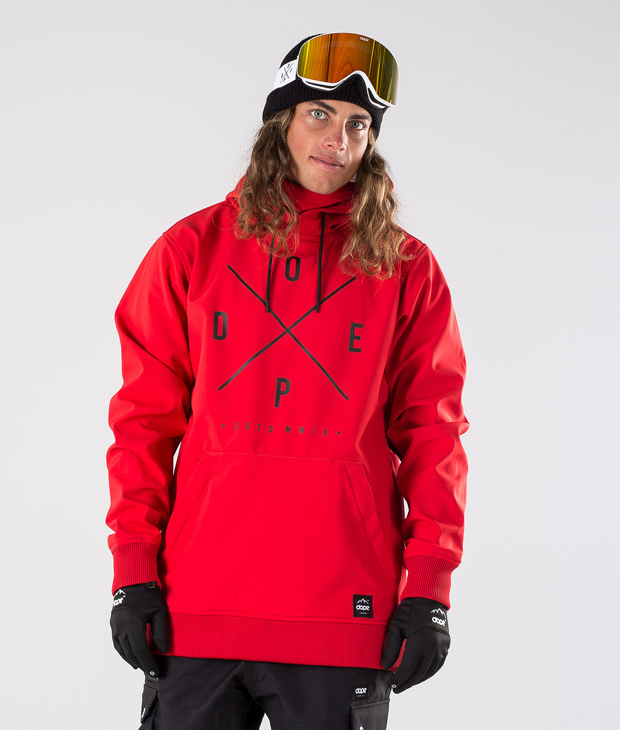 Dope Yeti Snowboard Jacket Red