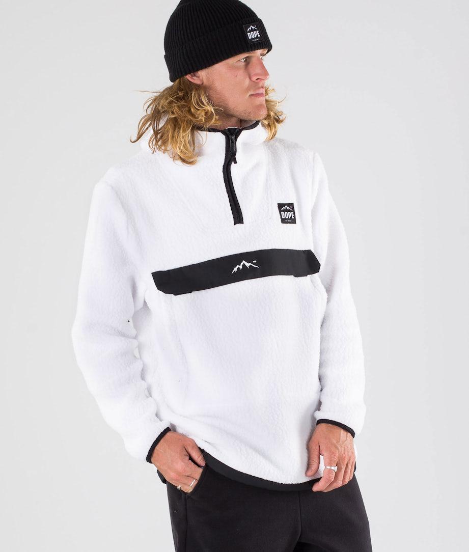 Dope Oi Snowboardsweatshirt White
