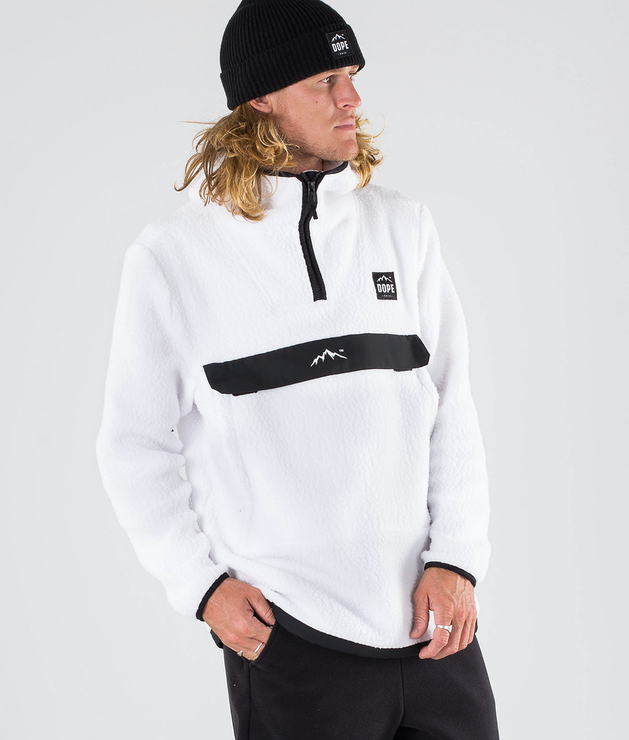 Dope Oi Snow Sweater White