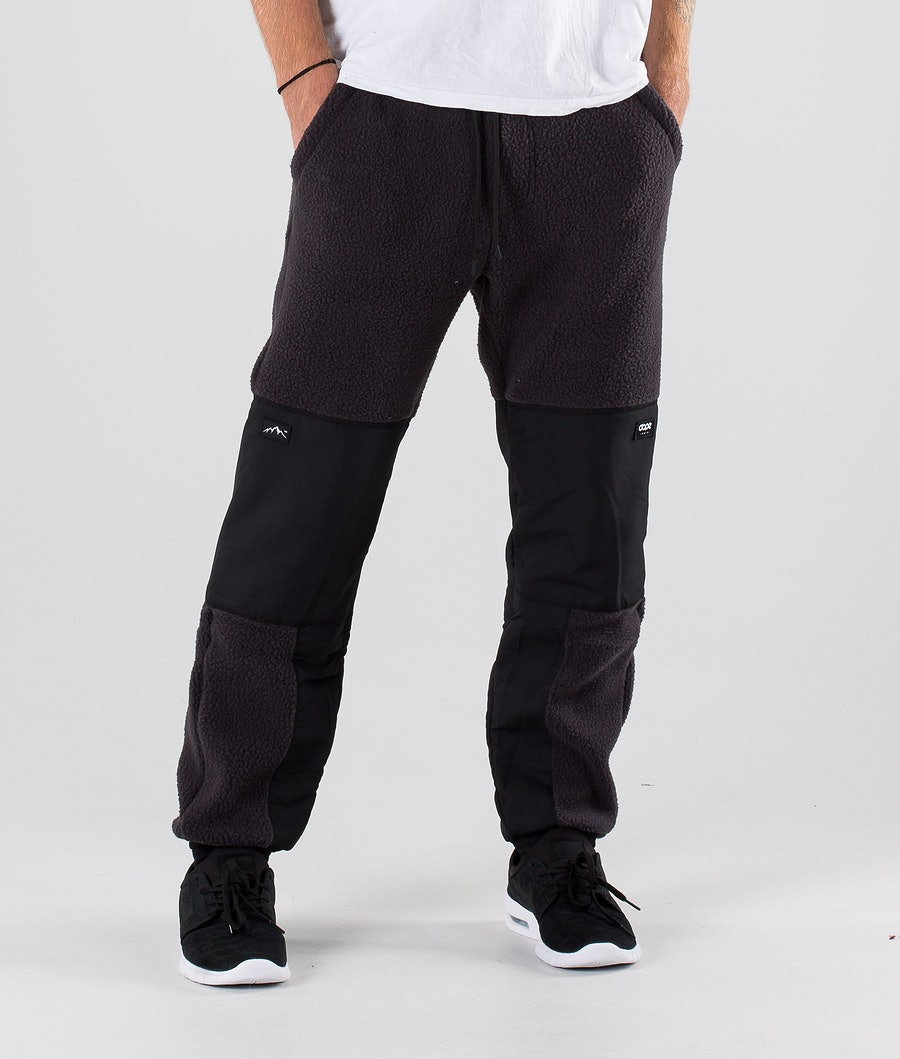 Dope Ollie Fleece Pants Phantom Black