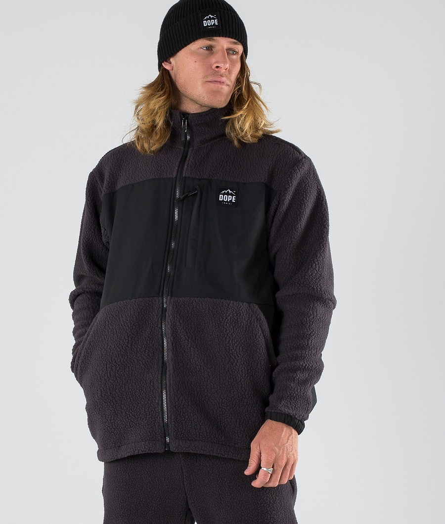Dope Ollie Fleece Sweater Phantom Black
