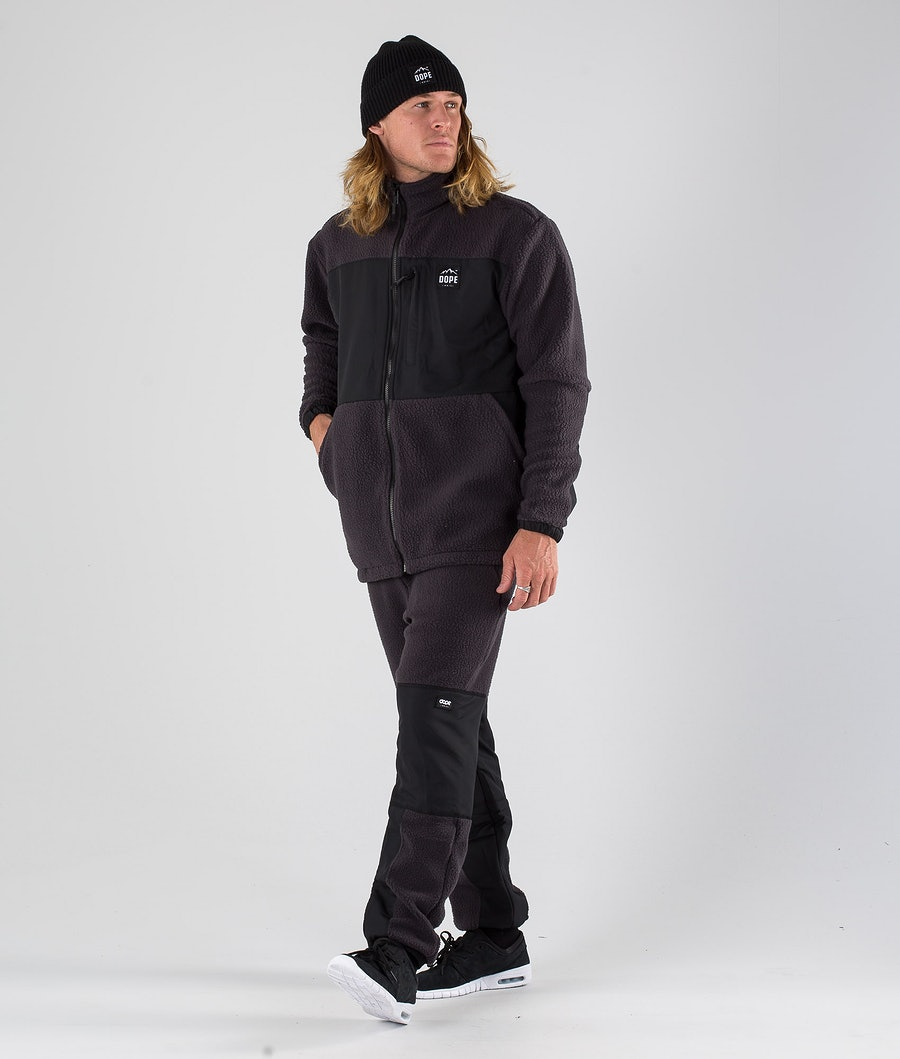 Dope Ollie Fleecepullover Phantom Black
