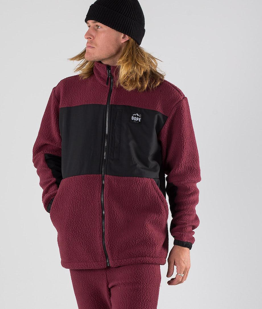 Dope Ollie Sweater Burgundy