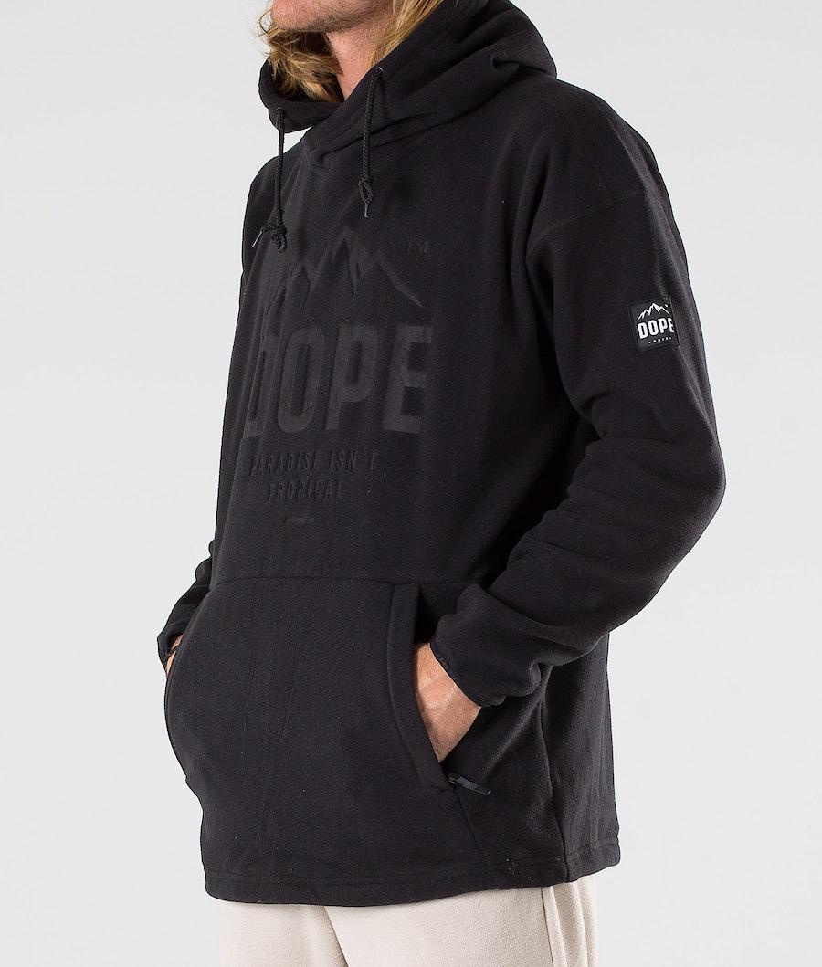 Dope Cozy Fleece Hoodie Black