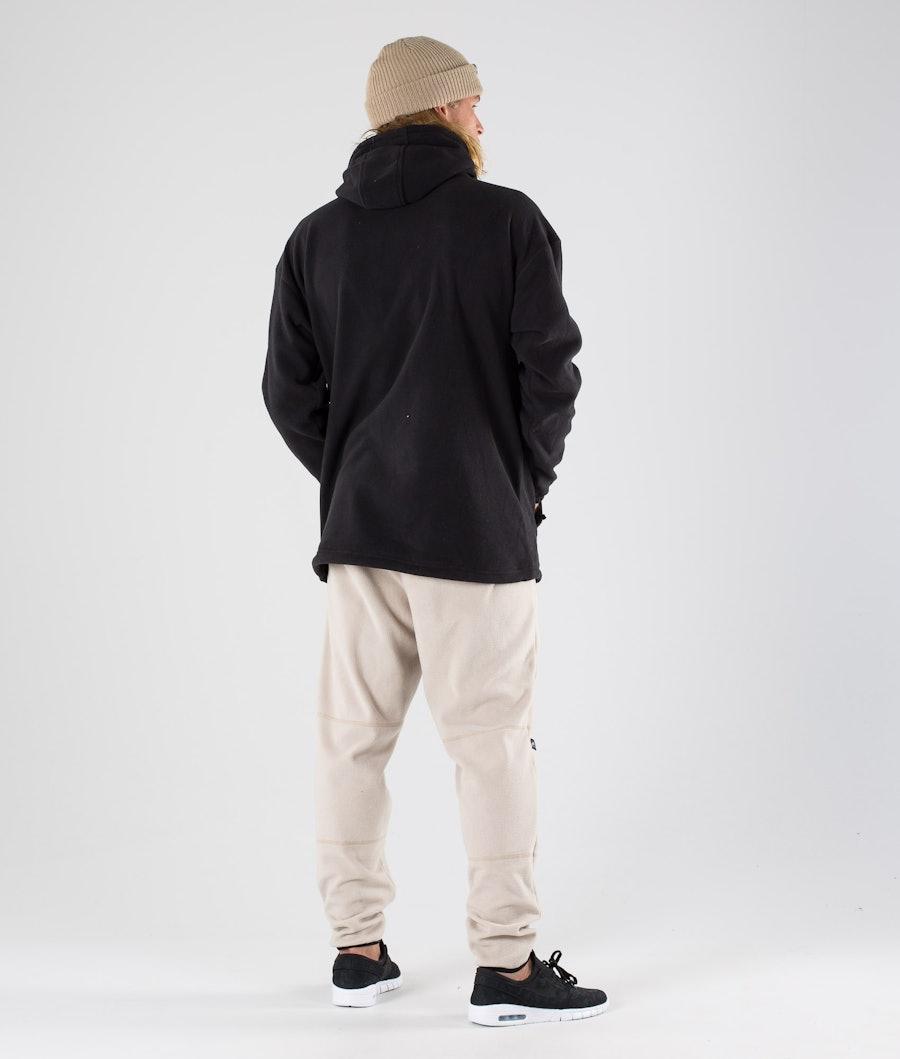 Dope Cozy Fleecehood Black