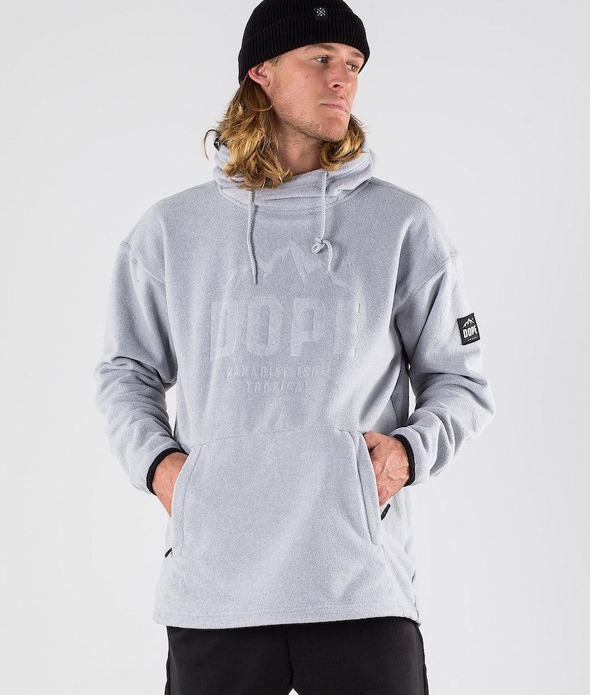 Dope Cozy Hoodie Light Grey Melange