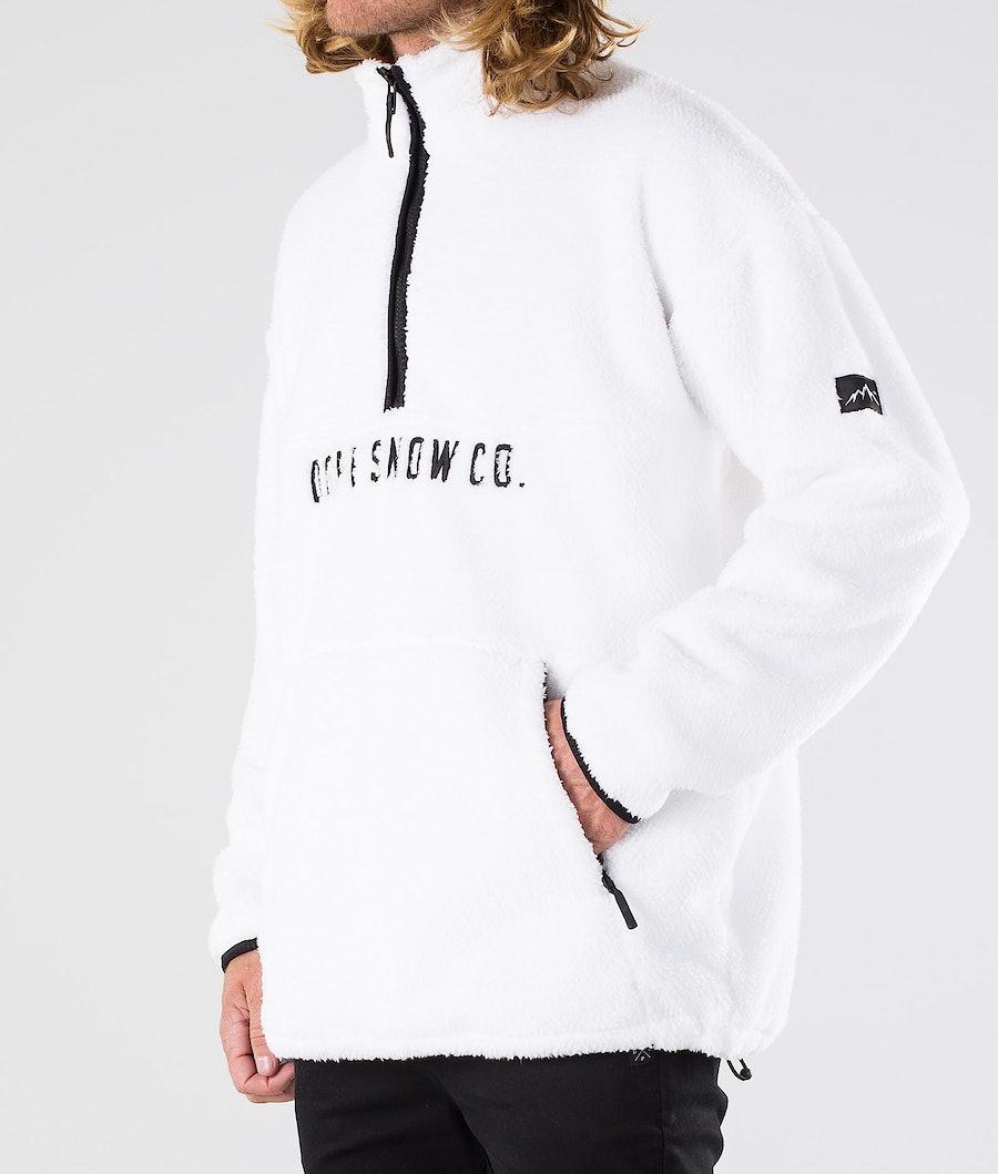 Dope Pile Fleecepullover White