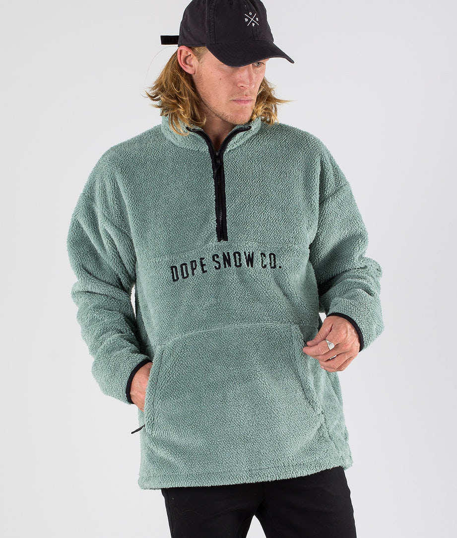 Dope Pile Sweatshirt Faded Green