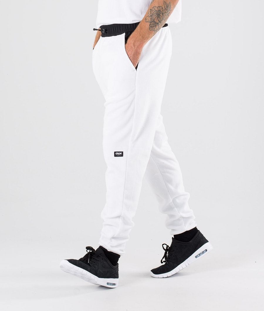 Dope Loyd Fleece Broek White