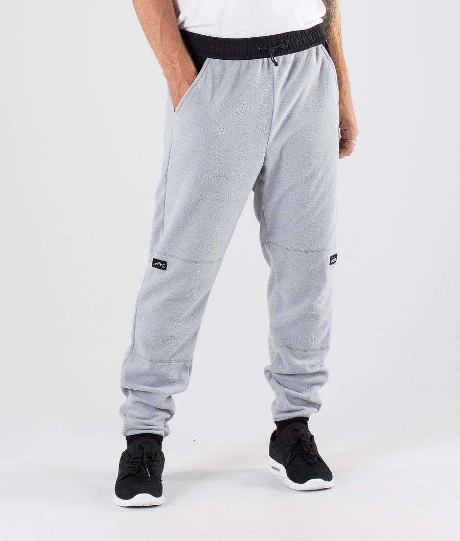 Dope Loyd Fleece Broek Light Grey Melange