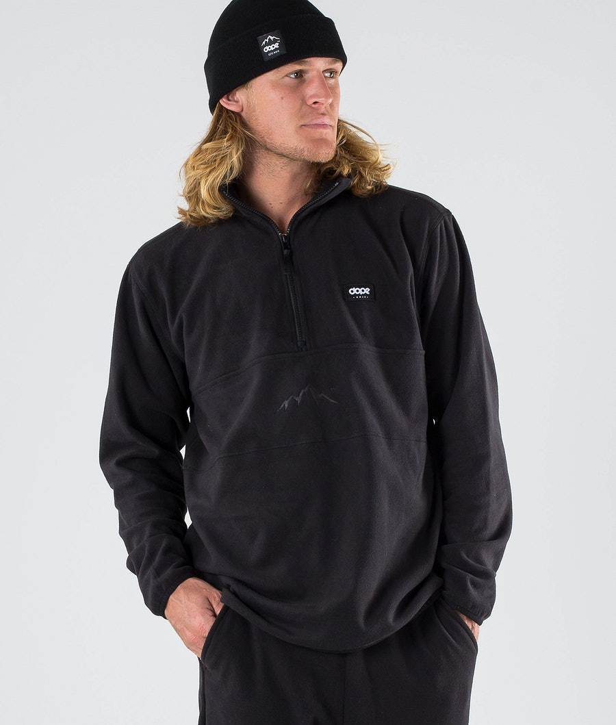 Dope Loyd Fleece Trui Black
