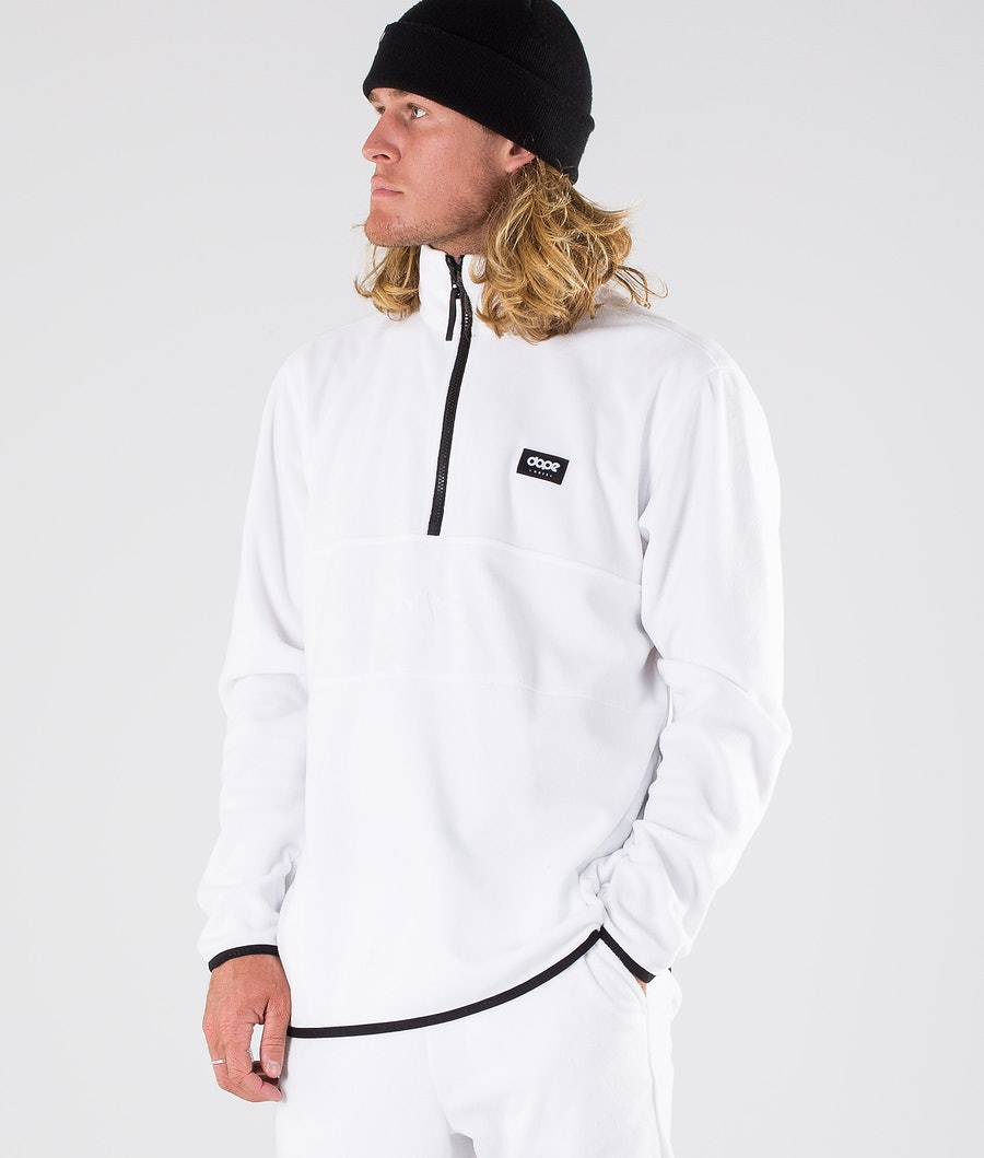 Dope Loyd Fleece Sweater White