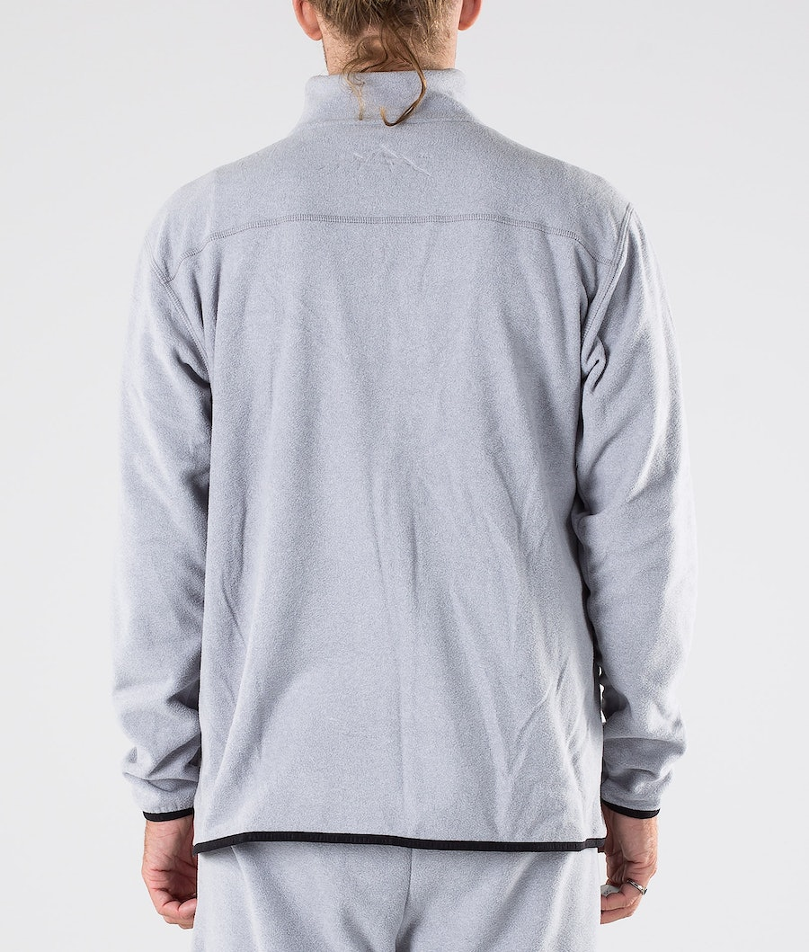 Dope Loyd Fleecetröja Light Grey Melange