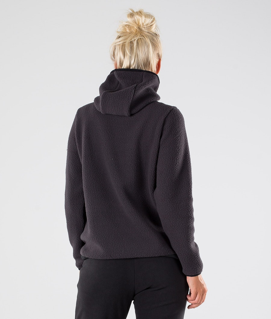 Dope Oi W Women's Fleece Hood Phantom Black