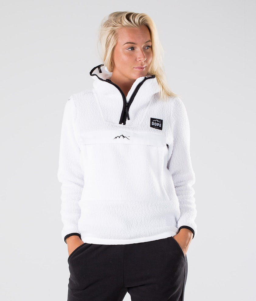 Dope Oi W Fleece Hood White