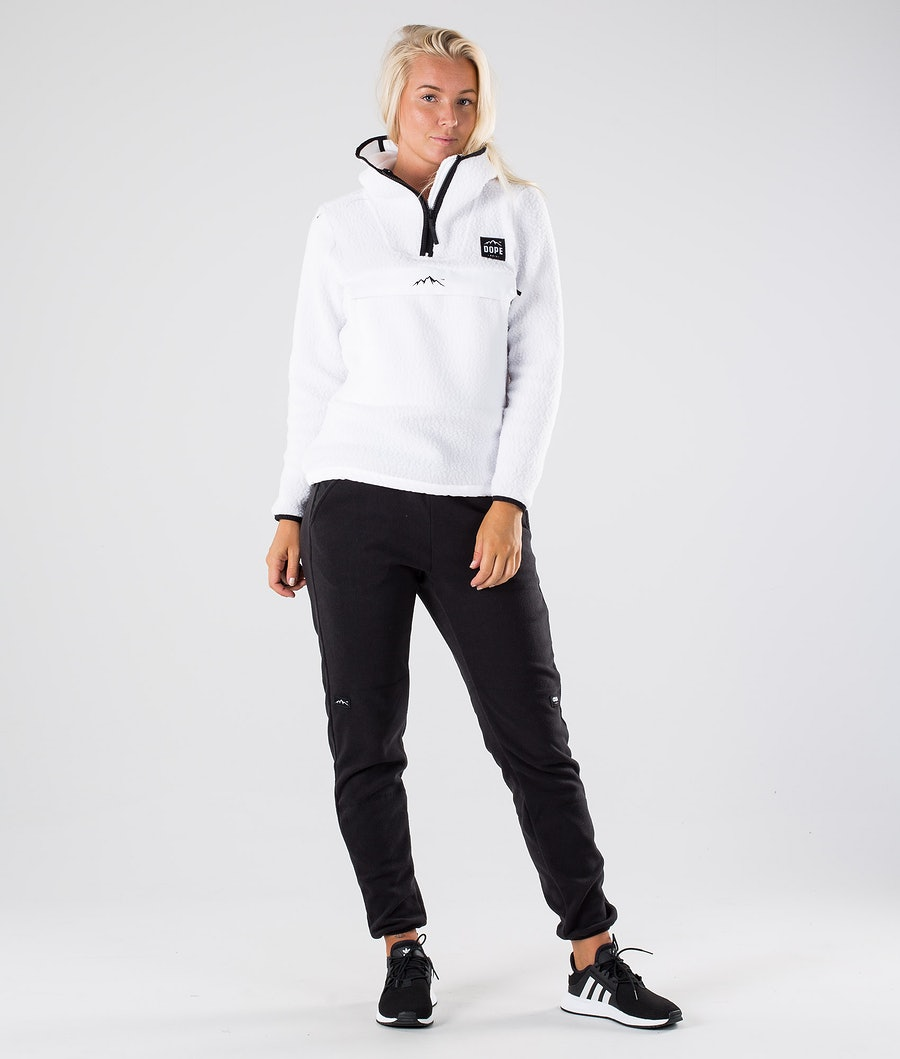 Dope Oi W Women's Fleece Hood White