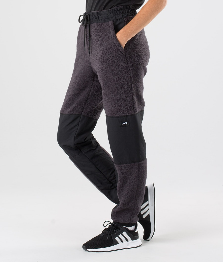 Dope Ollie W Fleece Pants Phantom Black