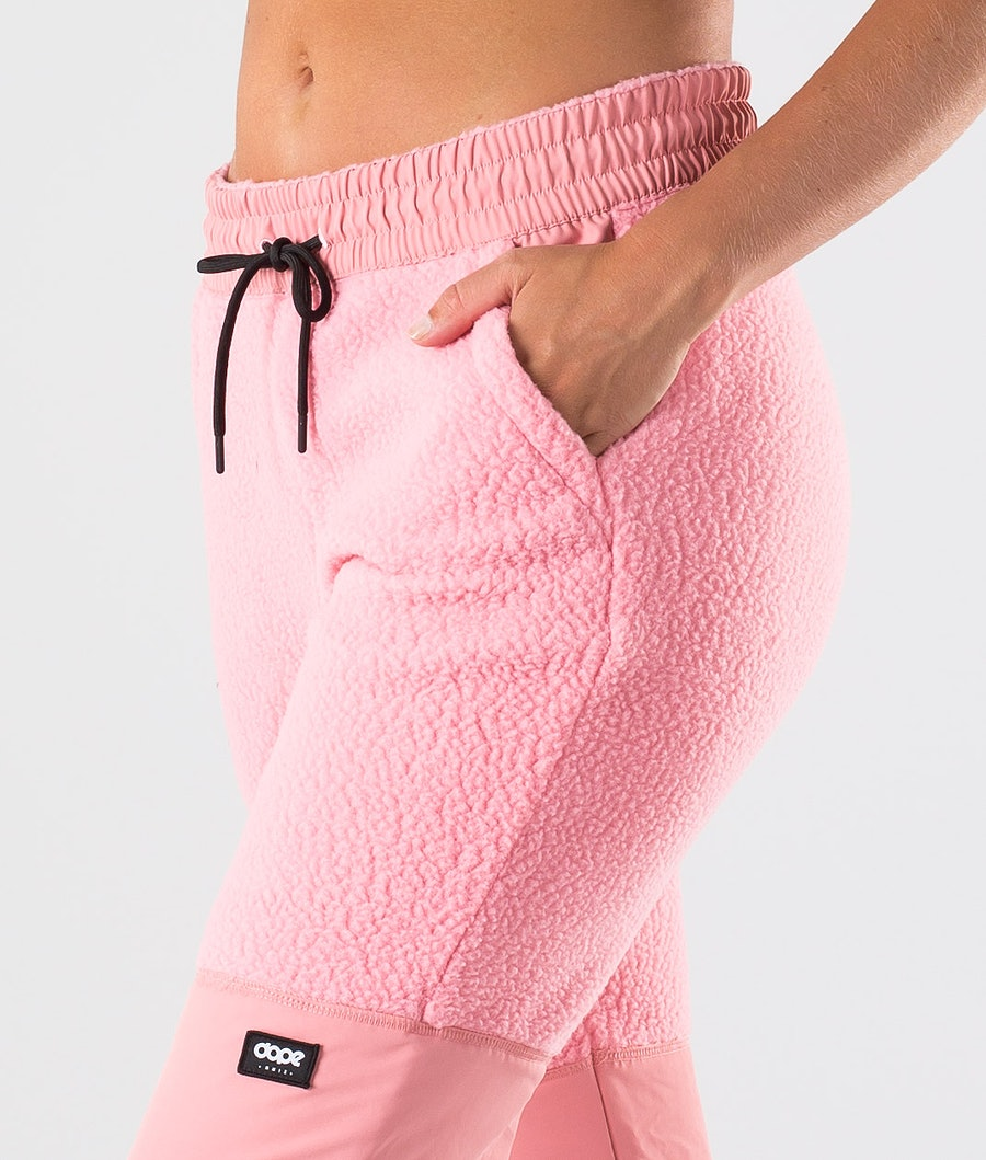 Dope Ollie W Fleecebukse Dame Pink