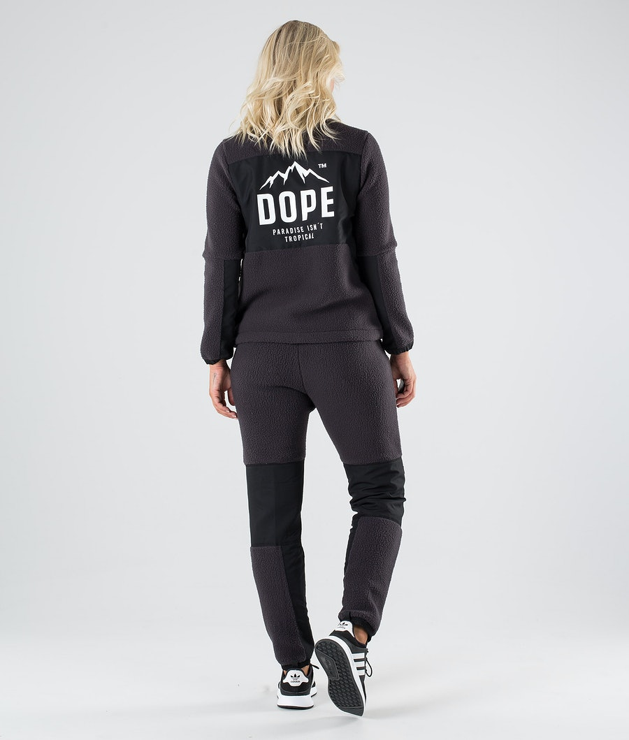 Dope Ollie W Sweats Polaire Femme Phantom Black