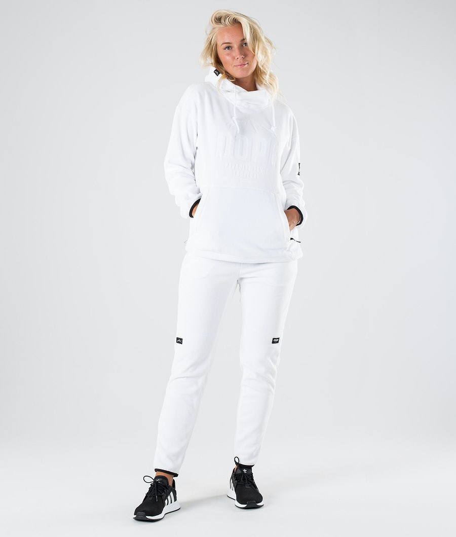 Dope Cozy W Pulls Polaire Femme White