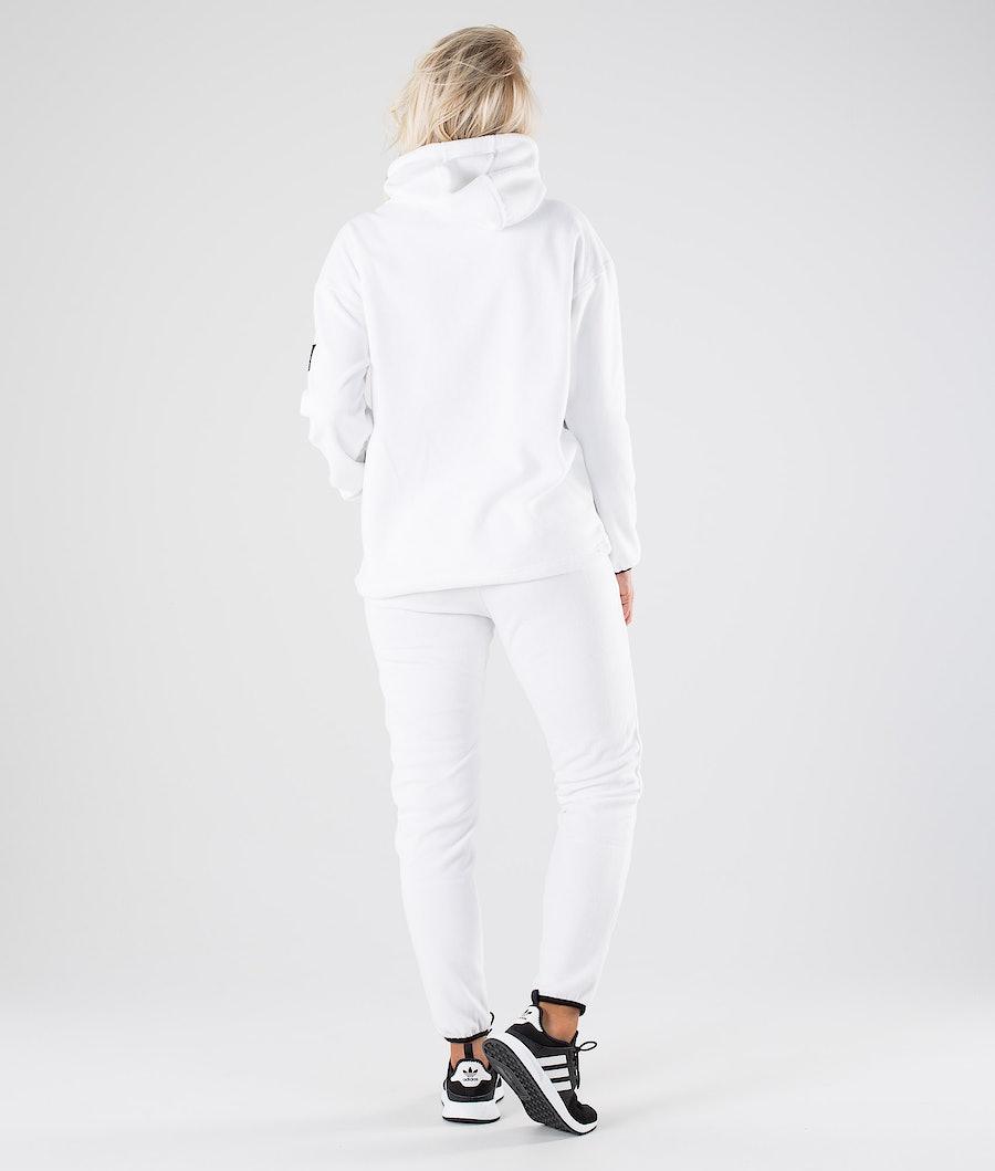 Dope Cozy W Women's Fleece Hood White