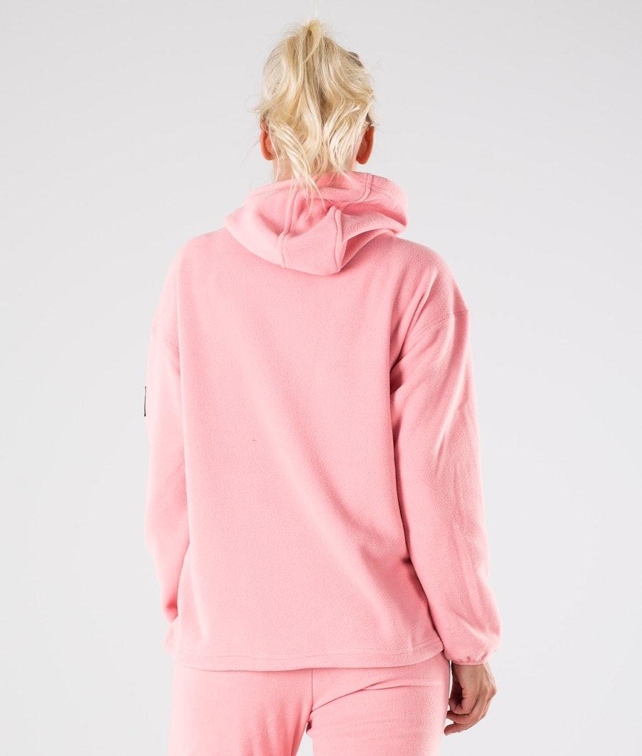 Dope Cozy W Women's Fleece Hood Pink