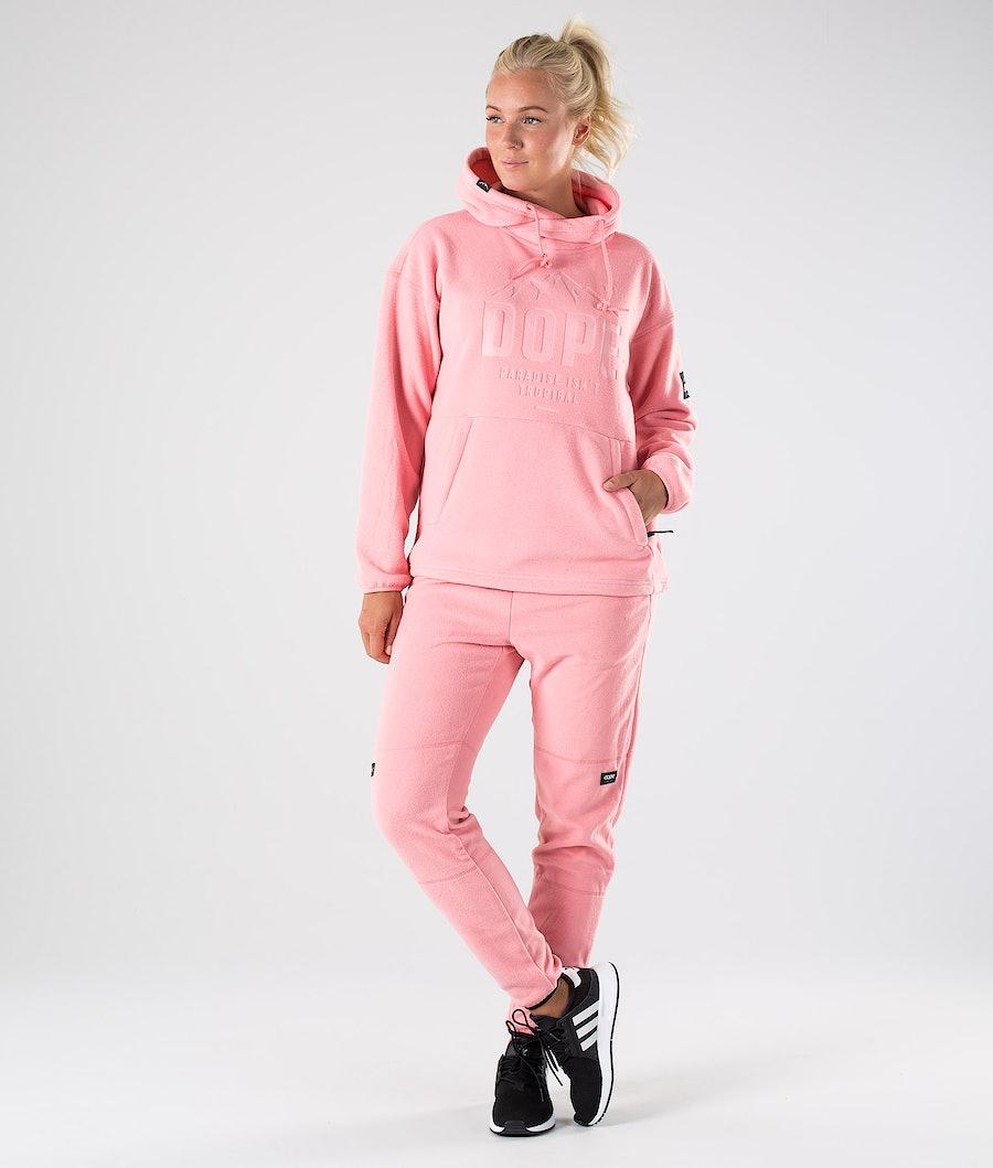 Dope Cozy W Fleece Hoodies Damen Pink