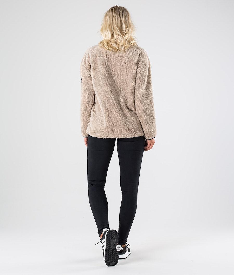 Dope Pile W Women's Fleece Sweater Sand